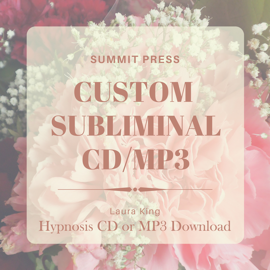 Custom Subliminal CD/MP3